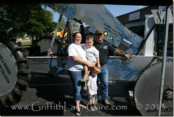 Griffith LawnCare Sponsor